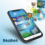 mobile phone, apps, btobet logo, casino apps, casino games, betting games, betting apps